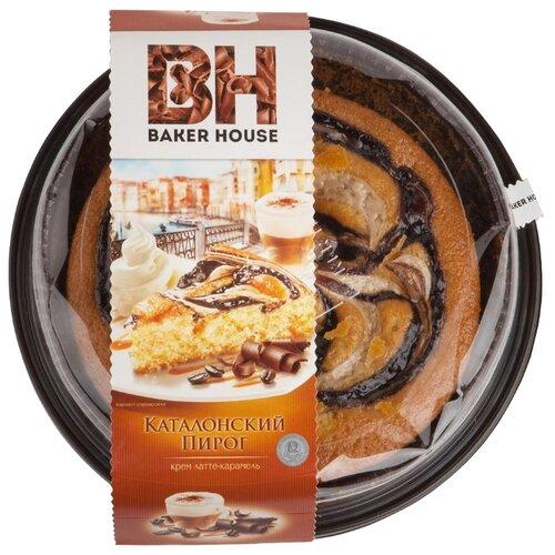BAKER HOUSE | Пирог BAKER HOUSE Каталонский крем латте-карамель 400 | Clouty