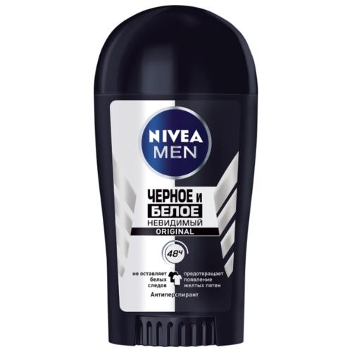 Nivea   Антиперспирант стик Nivea Men Невидимый для черного и белого, 40 мл   Clouty