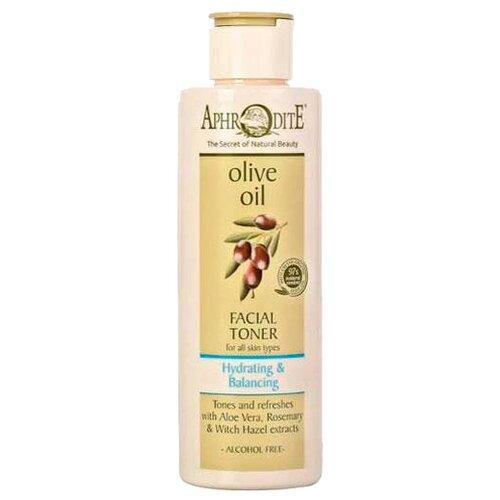 Aphrodite | Aphrodite Тонер Olive Oil с алоэ вера и розмарином 200 мл | Clouty