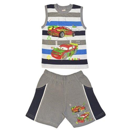 Kirpi | Комплект одежды Kirpi размер 116, серый | Clouty
