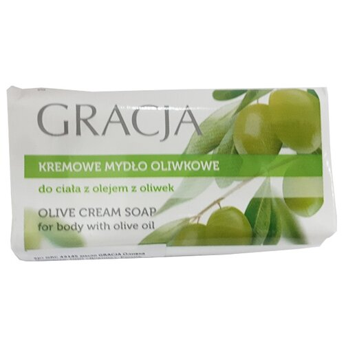 Gracja | Мыло кусковое Gracja С оливковым маслом, 100 г | Clouty