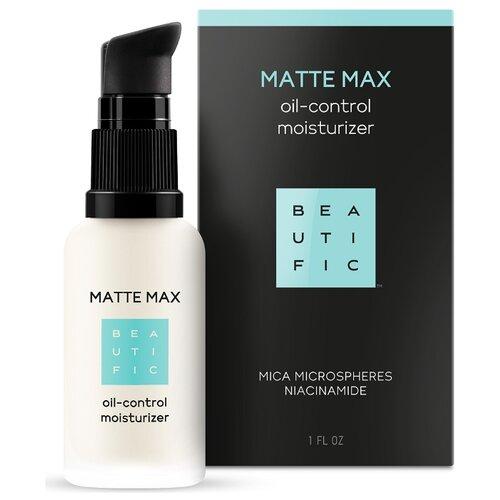 BEAUTIFIC | BEAUTIFIC Matte Max Pore Correcting Oil-Control Moisturizer Матирующий флюид-корректор пор для комбинированной и жирной кожи лица, 30 мл | Clouty