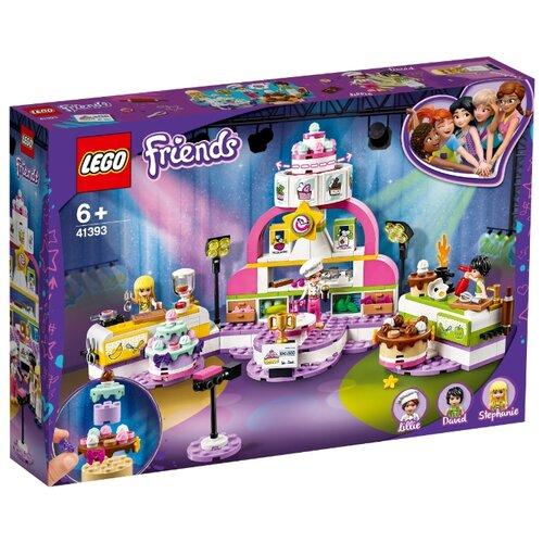 Lego | Конструктор LEGO Friends 41393 Соревнование кондитеров | Clouty