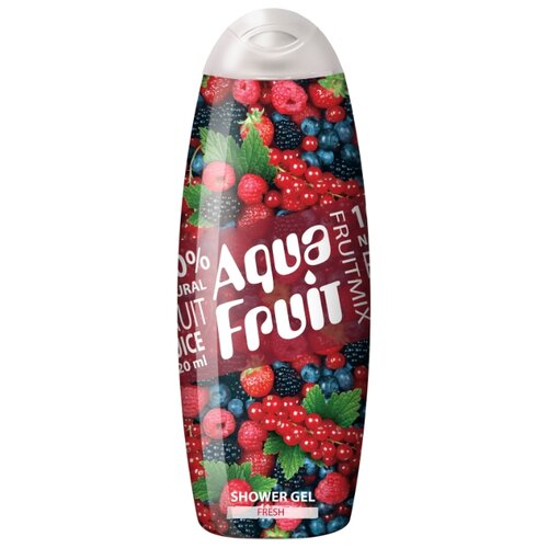 Aquafruit | Гель для душа AQUAFRUIT fruit mix fresh, 420 мл | Clouty