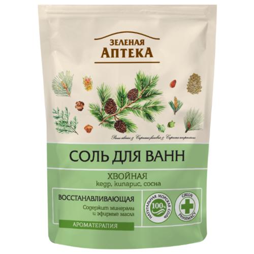 Зелёная Аптека | Зелёная Аптека Соль для ванн Хвойная, 500 г | Clouty