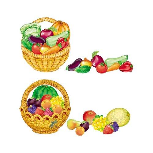 Творческий Центр СФЕРА | Набор карточек Творческий Центр СФЕРА Собери корзинку с овощами и фруктами 128 шт. | Clouty