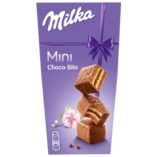 Milka | Пирожное Milka Choco Bite 117 г | Clouty