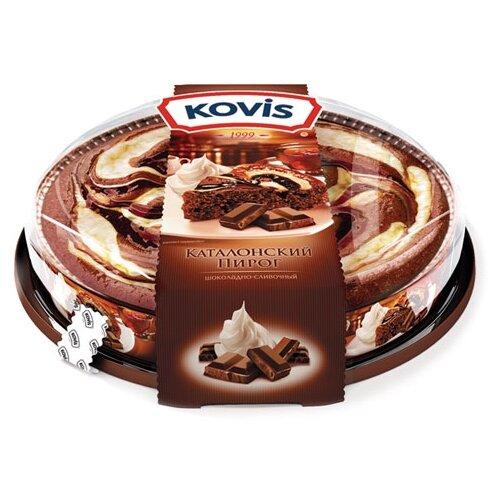 KOVIS | Пирог KOVIS каталонский Шоколадно-сливочный крем 400 | Clouty