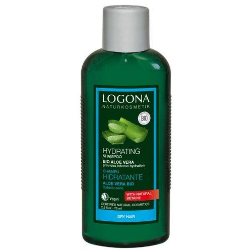 Logona | Logona шампунь Hydrating Bio-aloe vera Увлажняющий, 75 мл | Clouty