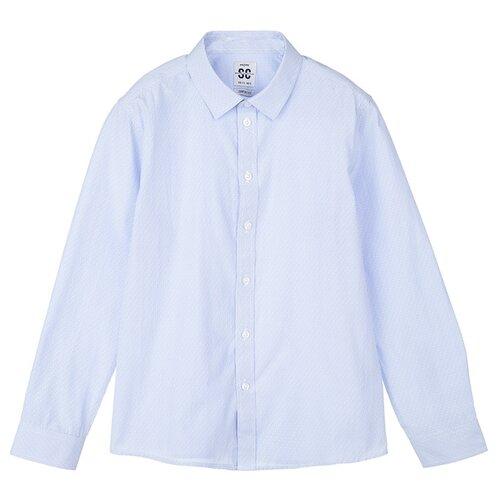 PlayToday | Рубашка playToday размер 146, голубой | Clouty