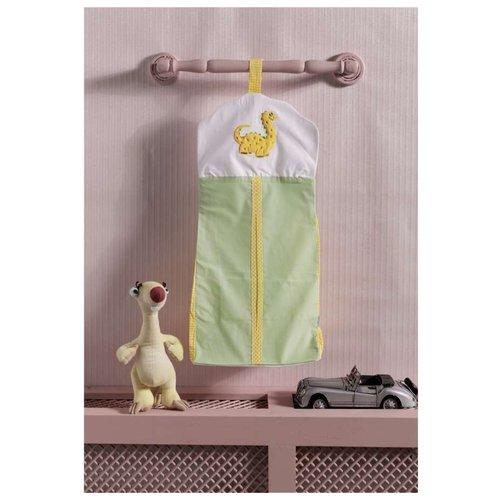 Kidboo | Kidboo Прикроватная сумка Baby Dinos зеленый | Clouty