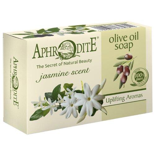Aphrodite | Мыло кусковое Aphrodite Оливковое с ароматом жасмина, 100 г | Clouty