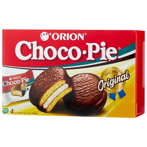 Orion   Пирожное Orion Choco Pie 120 г   Clouty