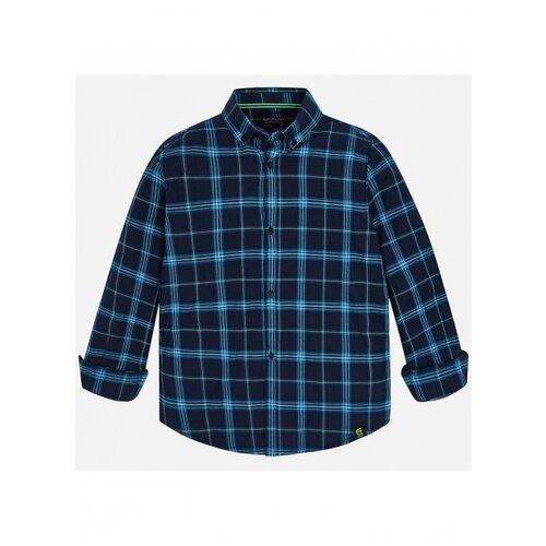 Nukutavake   Рубашка Nukutavake размер 128, синий/голубой   Clouty