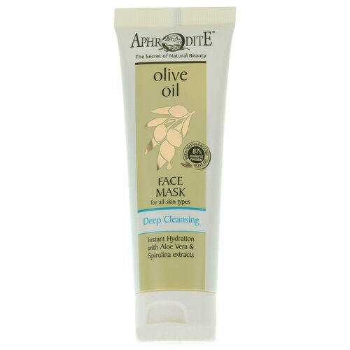 Aphrodite | Aphrodite Deep Cleansing маска для лица с алоэ вера и спирулиной, 75 мл | Clouty