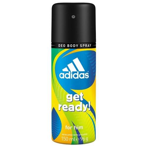 adidas | Дезодорант спрей Adidas Get Ready, 150 мл | Clouty