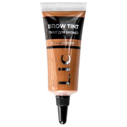 Lic | Lic тинт Brow Tint, оттенок 01 Light Brown | Clouty