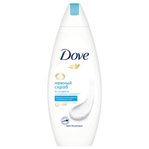 Dove   Гель-скраб для душа Dove Нежное обновление, 250 мл   Clouty