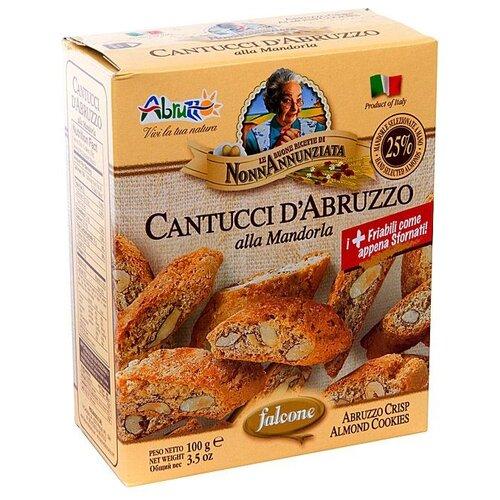 Falcone   Печенье FALCONE Falcone Cantuccini с отборным миндалем 100г   Clouty