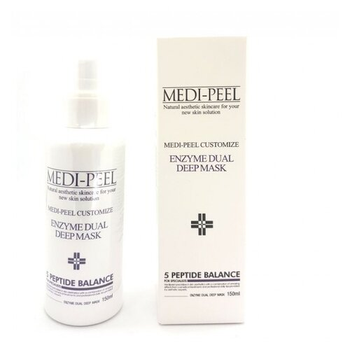 MEDI-PEEL   MEDI-PEEL Кислородная маска Enzyme Dual Deep Mask, 150 мл   Clouty