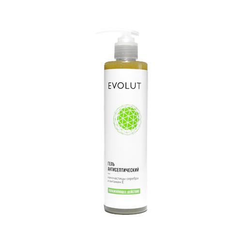 EVOLUT | Гель для рук Evolut антисептический с наночастицами серебра и витамином E 300 мл | Clouty