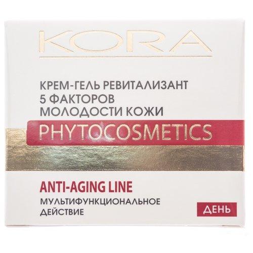 Kora | Крем-гель Kora ревитализант 5 факторов молодости кожи 50 мл | Clouty