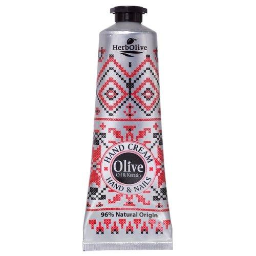 Herbolive | Крем для рук и ногтей HerbOlive с оливковым маслом и кератином 75 мл | Clouty