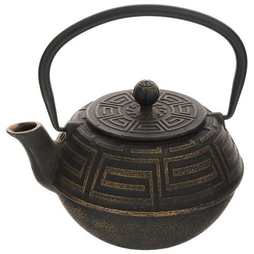 MAYER & BOCH   MAYER & BOCH Заварочный чайник 23696/23697 1,1 л, черный/золотистый   Clouty