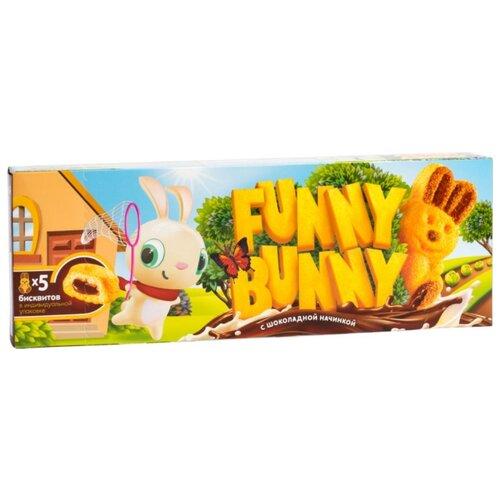 Funny Bunny   Пирожное Funny Bunny с шоколадной начинкой 150 г   Clouty