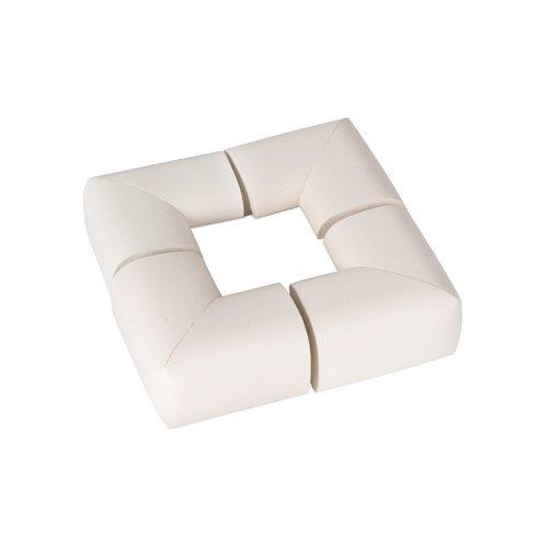 Пома | Мягкие накладки на углы 1620 Пома белый | Clouty