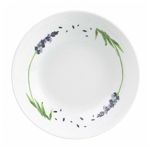 Luminarc | Luminarc Тарелка суповая Lavender 20 см белый | Clouty