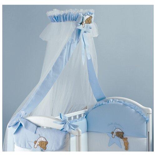 Roman Baby | Балдахин с опорой Roman Baby Stella Stellina blue | Clouty