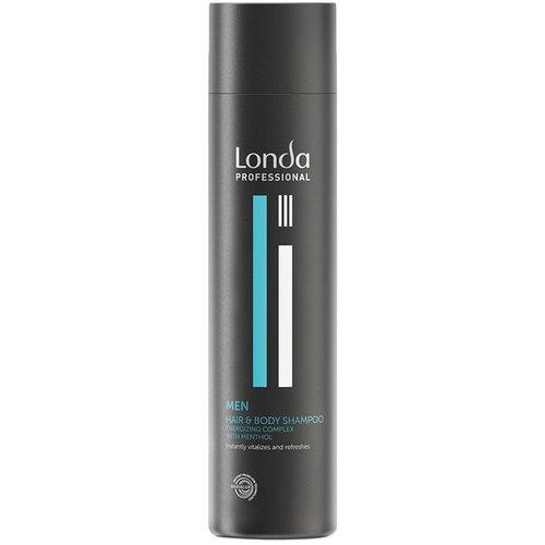 Londa Professional   Шампунь для волос и тела Londa Professional Men, 250 мл   Clouty