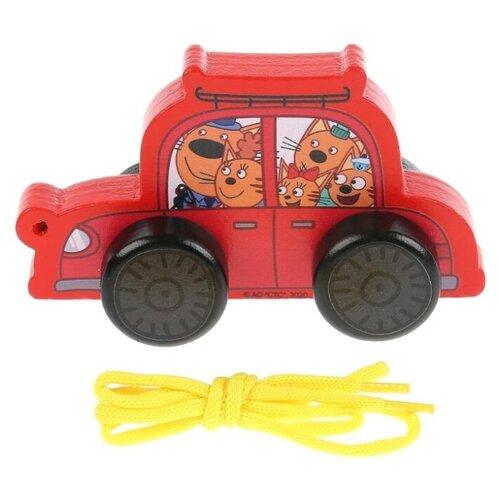 Буратино | Каталка-игрушка Буратино Три кота (КТК01) красный | Clouty