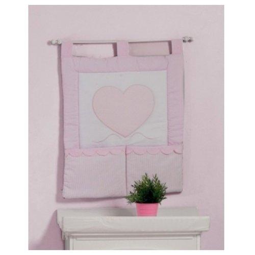 Roman Baby | Roman Baby Панно на стену Cuore di Mamma розовый | Clouty