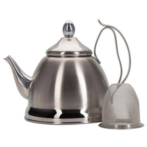 REGENT inox | REGENT inox Заварочный чайник Promo 94-1505/08 0,8 л, серебристый | Clouty