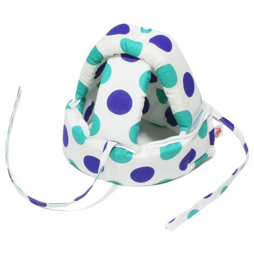Farla | Шлем для защиты головы малыша Mild Farla горошинки | Clouty