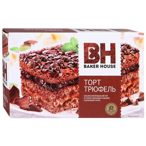 BAKER HOUSE   Торт BAKER HOUSE Трюфель, 350 г   Clouty
