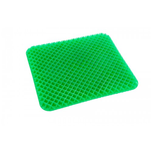Bradex | Подушка BRADEX для сидения амортизирующая (KZ 0471) 42.5 х 37.5 см черный/зеленый | Clouty