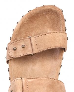 Swildens | Замшевые сандалии с заклепками | Clouty
