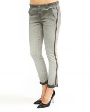 Swildens | Узкие брюки декорированные тесьмой | Clouty