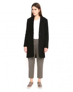 True NYC | Укороченные брюки прямого фасона с боковыми карманами | Clouty