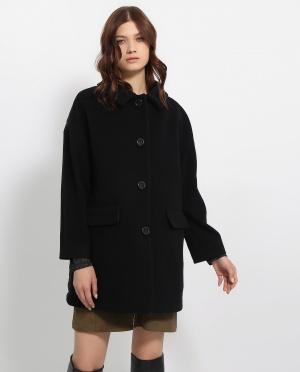 Boutique Moschino | Пальто объемного кроя из шерсти | Clouty