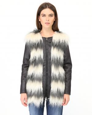 Merсi | Куртка с искусственным мехом | Clouty