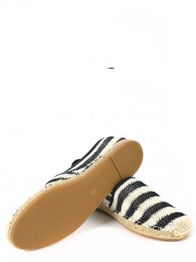 Ermanno Scervino | Эспадрильи с узором в полоску на плетеной подошве | Clouty