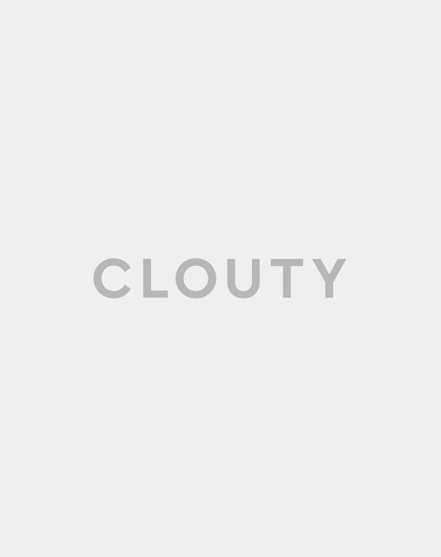MOSCHINO | Шелковое платье-рубашка с поясом и жабо | Clouty