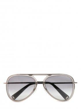 MAX MARA | Солнцезащитные очки в оправе из пластика и металла | Clouty