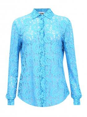 Moschino Couture   Блуза с кружевным узором   Clouty