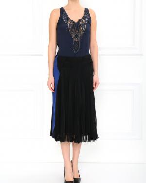 Donna Karan | Плиссированная юбка | Clouty