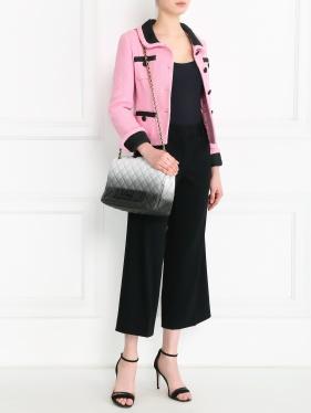 Moschino Couture | Жакет из хлопка с контрастными элементами | Clouty